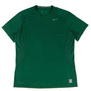 Nike pro combat mens athletic Dri-Fit fitted Green